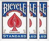 BICYCLE(バイスクル) 808 ライダーバック STANDARD トランプ ポーカーサイズ 青 3デックシュリンクパック