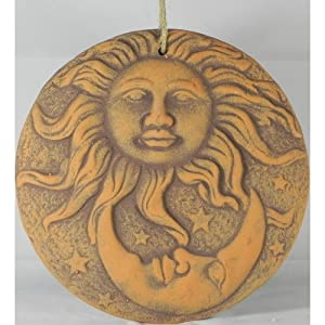 Giftworks Sun and Moon Plaque by Giftworks