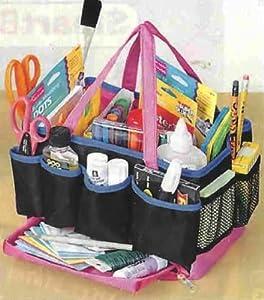 13 compartment craft organizer storage tote bag. Black Bedroom Furniture Sets. Home Design Ideas