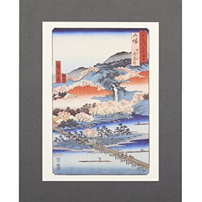 The Moon Crossing Bridge (Mounted Print)||EVAEX