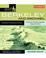 """M. Berkeley: Concerto pour orchestre """"Seascapes"""" / L. Berkeley: Concerto pour 2 pianos & orchestre"""