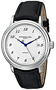 Raymond Weil Men's 2837-STC-05659 Maestro Analog Display Swiss Automatic Black Watch