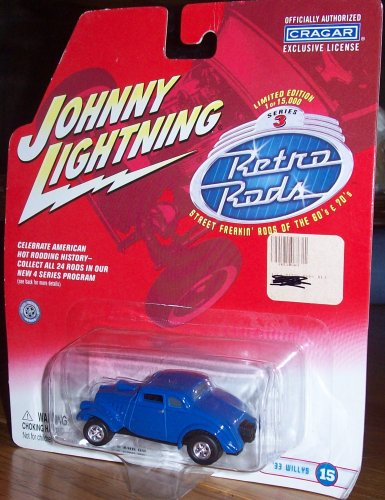 Johnny Lightning Retro Rods Series 3 - '33 Willys #15