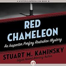 Red Chameleon (       UNABRIDGED) by Stuart M. Kaminsky Narrated by John McLain