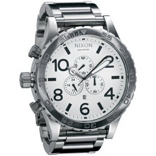 Nixon Men's Quartz Chronograph Watch 1100 A083