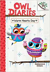 Amazon.com: Warm Hearts Day: A Branches Book (Owl Diaries #5