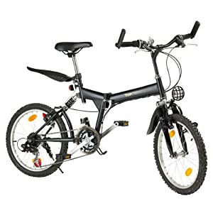 klapp mountainbike 20 zoll schwarz test. Black Bedroom Furniture Sets. Home Design Ideas