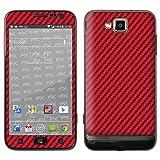 """Samsung Ativ S (GT-I8750) Skin Design Aufkleber """"FX-Carbon-Red""""von """"Designfolien@FoliX"""""""