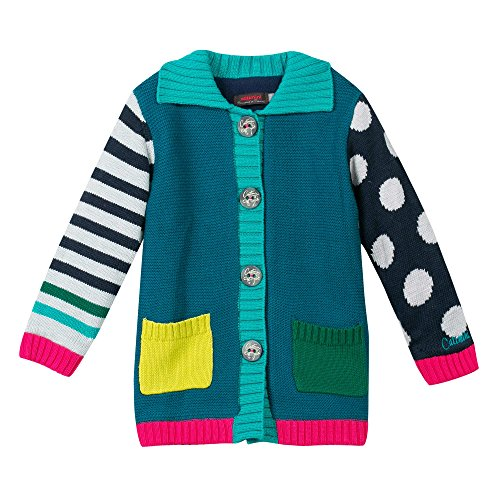 Catimini CI44013 - Pop Retro Knit Coat cappotto bimba 8 anni