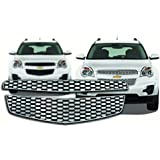 Chevy Equinox Chrome Front Grille Insert: Fits 2010, 2011, 2012 Chevy Equinox