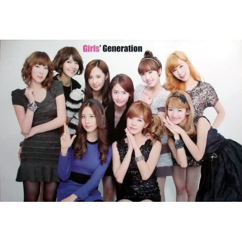 6280 M Snsd Girl Generation Korea Girl Group Pop Dance Music Wall Decoration Poster Size 35x23.5