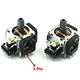 3D Analog Joystick Sensor Joystick Module Potentiometers 3 Pin for Sony Playstation 3 PS3 2PCS