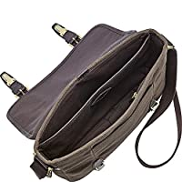 Fossil Estate Ew City Bag - Dark Brown from Fossil Duffel Bags and Backpacks