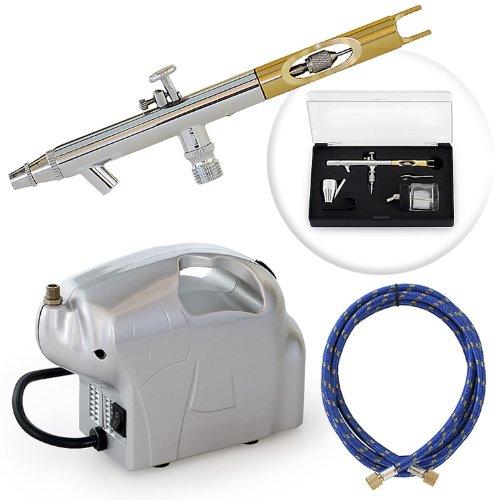 Multi-purpose Dual-action Airbrush Set - Elephant Compressor Kit