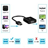 HDMI-auf-VGA-Rankie-Vergoldet-Active-HDMI-to-VGA-Kabel-HDTV-Adapter-Konverter-Male-to-Female-mit-Micro-USB-Ladekabel-R1150