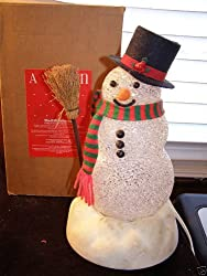 Avon Gift Collection Chilly Sam Light up Snowman with Box