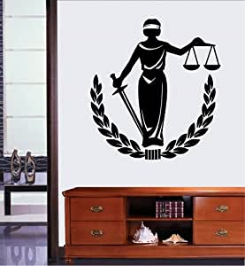 lady justice wall art - photo #17