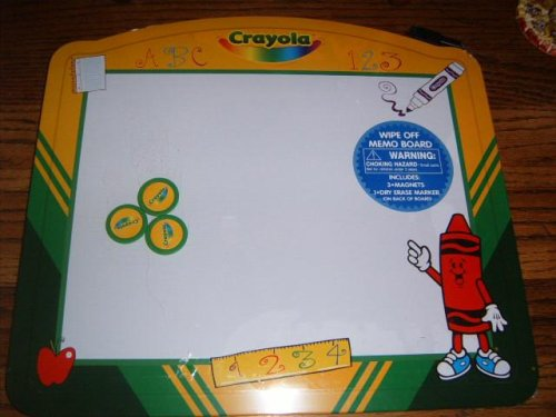 Crayola Wipe Off Memo Board