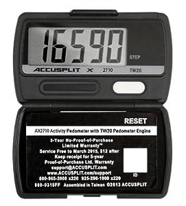 Buy ACCUSPLIT AX2720STEP (AX2710) Accelerometer Pedometer by ACCUSPLIT