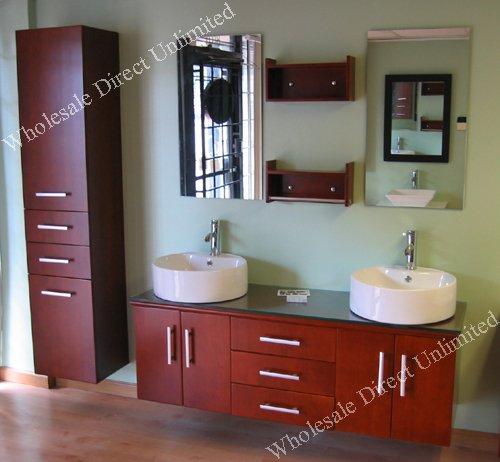 Price Comparison 76 Double Sink Modern Contemporary Bathroom Vanity Cabinet I