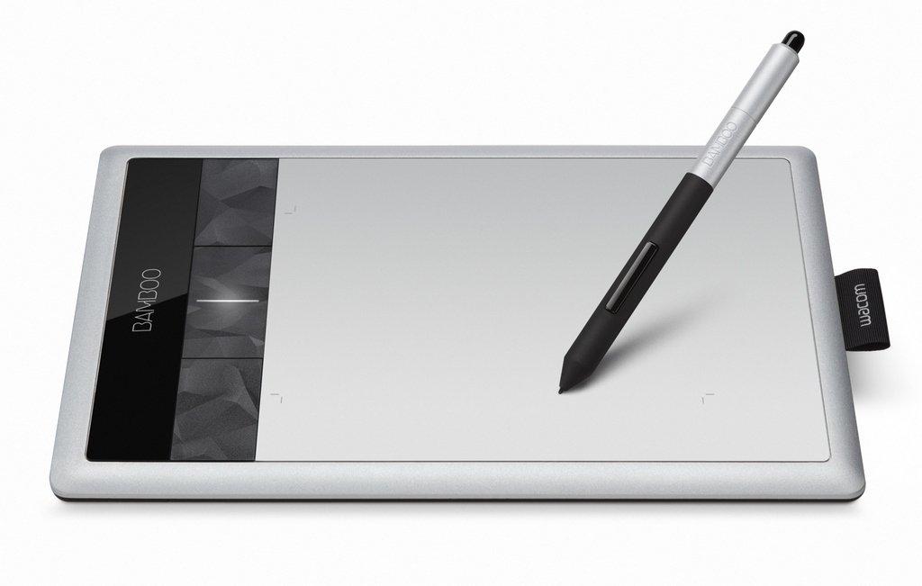 Tablette graphique et Stylets WACOM BAMBOO CTH470S GRIS