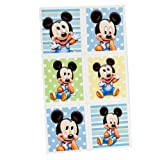 Mickey's 1st Birthday Sticker Party (4 count)