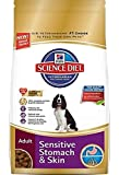 Hill's Science Diet Adult Sensitive Stomach & Skin Dry Dog Food, 30-Pound Bag