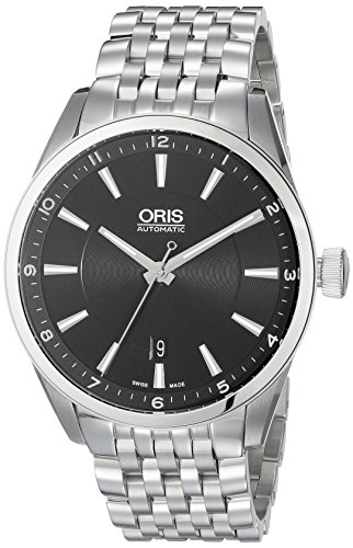 Oris-Mens-73376424034MB-Artix-Analog-Display-Swiss-Automatic-Silver-Watch