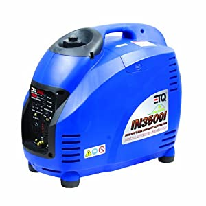 ETQ IN3500I 3,500 Watt 149.5cc 4-Stroke Gas Powered Portable Inverter Generator