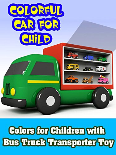 Colors for Children with Bus Truck Transporter Toy on Amazon Prime Video UK