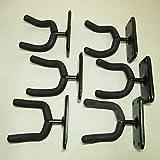 ギターハンガー 壁掛け 個数が選べる ネジ付 石膏ボード アコギ おまけ有り (6個セット)