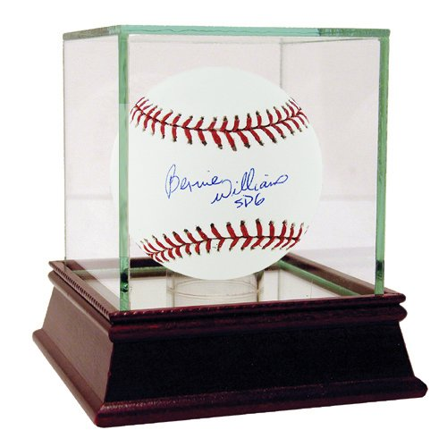 Steiner Sports Mlb New York Yankees Bernie Williams Baseball front-866763