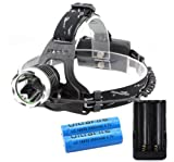 GorEAD CREE XML XM-L T6 LED 1200 LM Lumens Headlamp Head Light Headlight