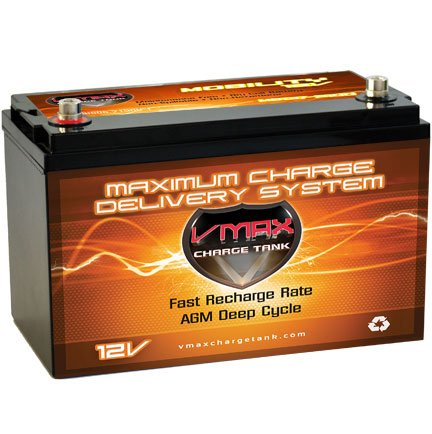 Vmaxmb137 Agm Group 31 Deep Cycle Battery Replacement For Amstron Ap12-100D 12V 120Ah Wheelchair Battery