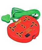 Hilex 3 Pin Conversion Socket Red