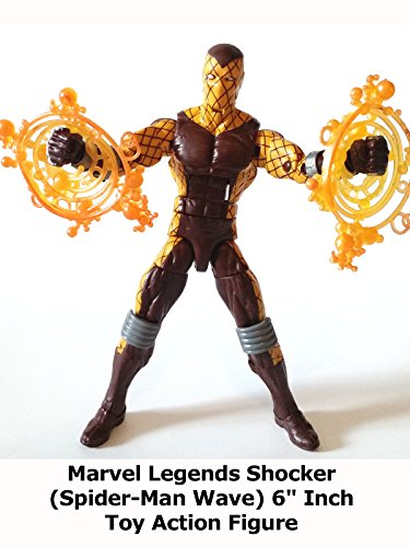 "Review: Marvel Legends Shocker (Spider-Man Wave) 6"" Inch Toy Action Figure"