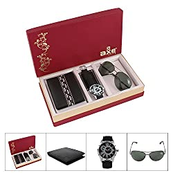 AXE style Combo of Watch , Wallet and Sunglass Mens Combo - X3503WWS