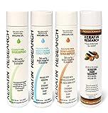 Complex Brazilian Global Brazilian Complex Keratin Hair Treatment 4 Bottles 300ml Kit Includes Sulfate Free