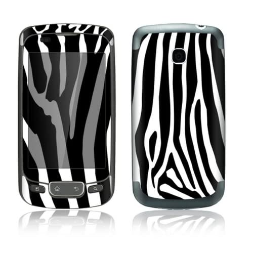 Zebra Print Design Decorative Skin Cover Decal Sticker for LG Optimus One P500 Cell Phone