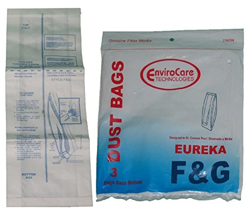 Eureka Paper Bag Style F&G 3 Pack Replacement #216 (Eureka F & G Belt compare prices)