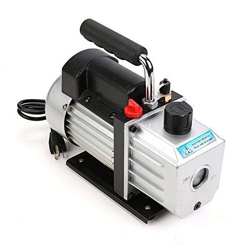 Sanven Hvac Tool Refrigerant Rotary Vane Deep Vacuum Pump 1/3Hp 4 Cfm 10 Rotary Vane Deep Hvac Ac Air Tool Pa