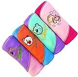 #4: BRANDONN NEWBORN Premium Quality RAINBOW 4PC A/C Baby Blanket Cum Baby Wrapper(Pack Of 4 , Assorted)