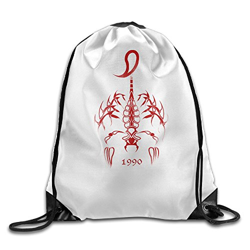 Red Scorpion INSECT Backpack Bag.