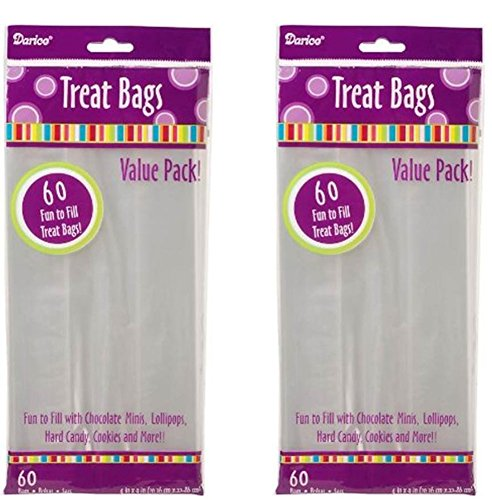 2-packs-of-darice-28-003v-4-inch-by-9-inch-clear-treat-bag-60-piece