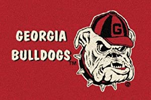 "Georgia Bulldogs ""Red"" 7' 8"" x 10' 9"" Team Spirit Area Rug"