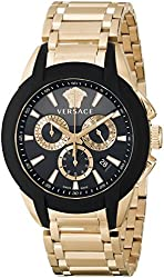 Versace Men's M8C80D008 S080 Character Rose Gold Ion-Plated Watch