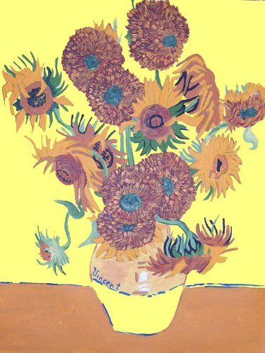 Van Gogh SUNFLOWERS Acrylic Painting Kit