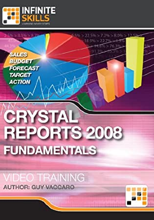 Crystal Reports 2008 Fundamentals - Training Course [Download]