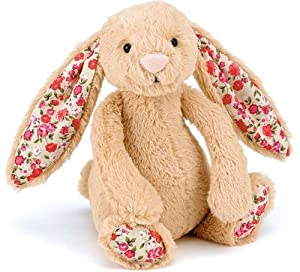 Jellycat Blossom Bashful 18cm Bunny Honey