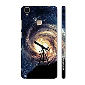 Enthopia Designer Hardshell Case Space Gaze Back Cover for Vivo V3 Max